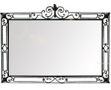 colonial iron mirror