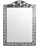 traditional iron mirror