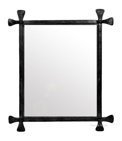 spanish iron mirror