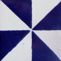Painted Mexican Tile