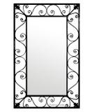 designer iron mirror