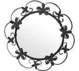 round iron mirrors