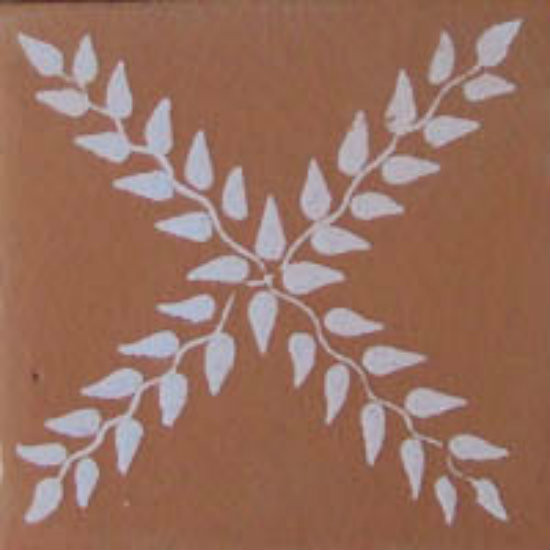 Moorish Mexican tile white