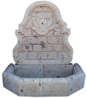 Mexican cantera wall fountain