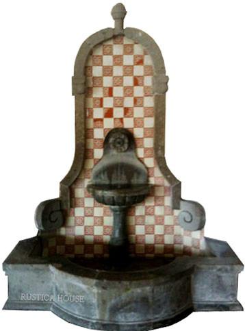 cantera wall fountain