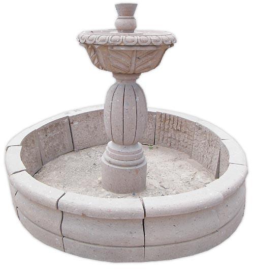 garden stone fountain