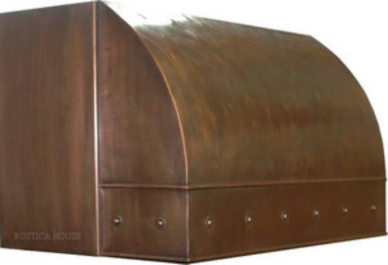 under cabinet copper hood