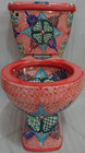 mexican decorative toilet