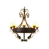 country style iron chandelier
