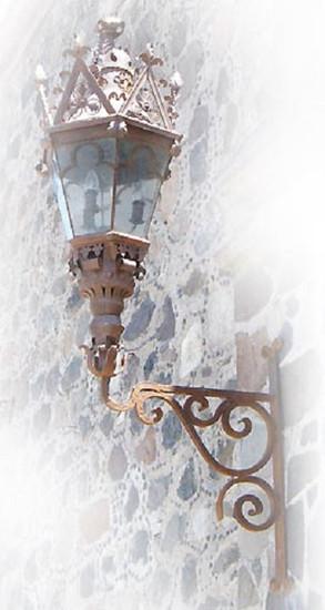 outdoor iron lantern