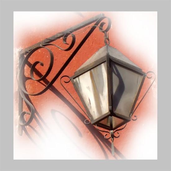 mexican outdoor iron lantern