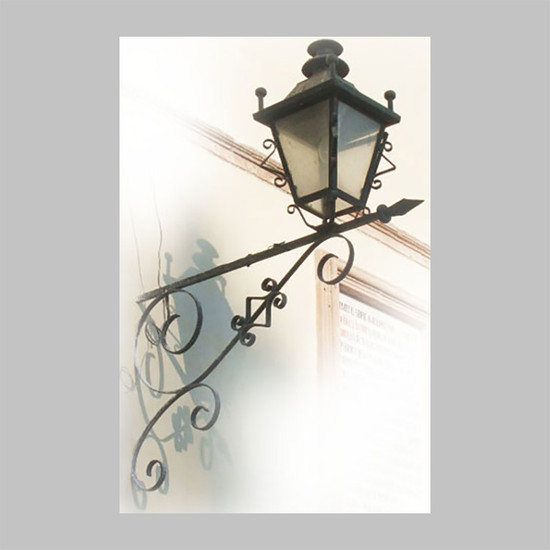 hacienda outdoor iron lantern