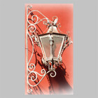 victorian outdoor iron lantern