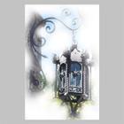 forged outdoor iron lantern