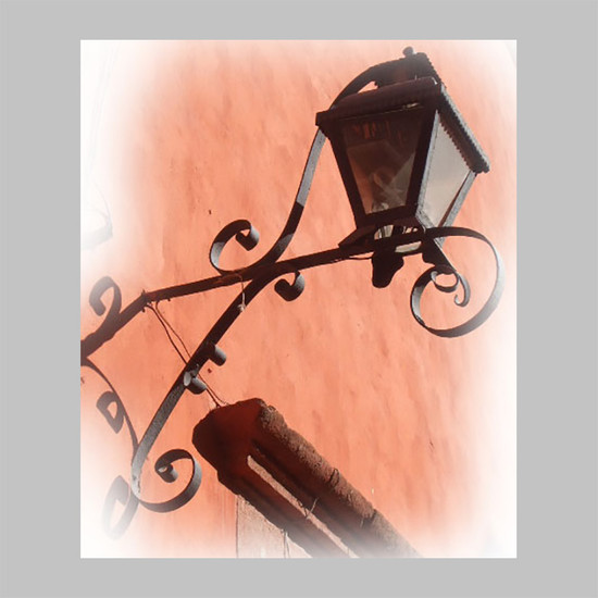 hand crafted outdoor iron lantern