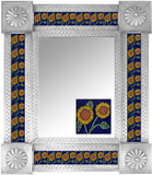 Mexican Tile Mirror 0019