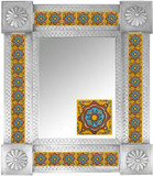Mexican Tile Mirror 0013