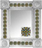Mexican Tile Mirror 009