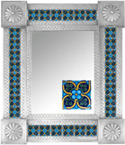 Mexican Tile Mirror 008