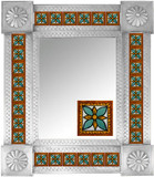 Mexican Tile Mirror 005