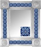 Mexican Tile Mirror 003