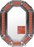 Metal mirror modern