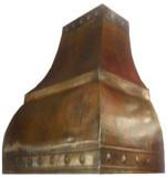 oven copper hood
