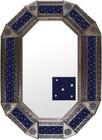 Old metal mirror old European frame tiles