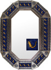 Old metal mirror colonial frame tiles