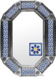 Metal mirror classic colonial