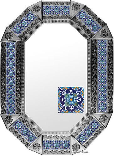 Metal mirror old European