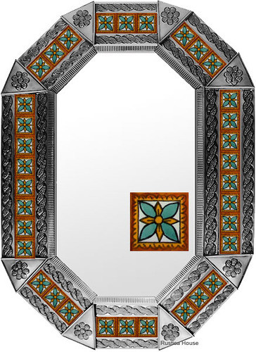 metal tin mirror tile manufactured