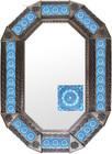 old metal tin mirror produced