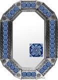 metal tin mirror tile fabricated