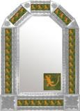 mexican hacienda natural tin mirror