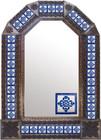 rustica house mexican tin mirror copper