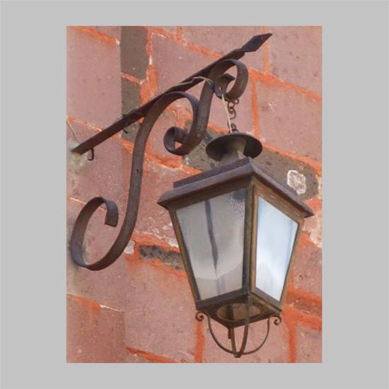 hacienda outdoor wall iron lantern