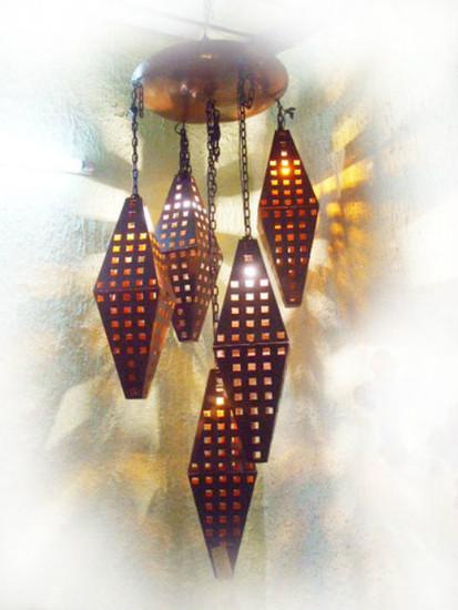 interior iron chandelier