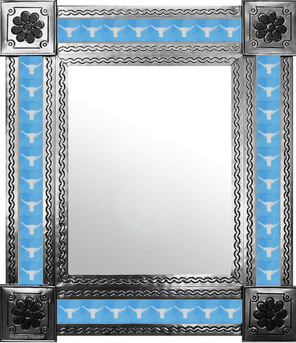 mexican mirror with southeastern tiles