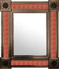 mexican wall mirror handmade frame
