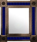 mexican wall mirror fabricated frame