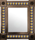 mexican wall mirror traditional frame
