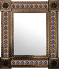 mexican wall mirror classic colonial frame