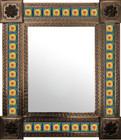 mexican wall mirror Guanajuato frame