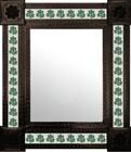 hacienda mexican wall mirror with tiles