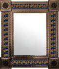 mexican mirror folk art frame