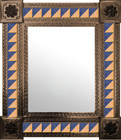 mexican mirror handmade frame