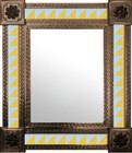 mexican mirror modern frame