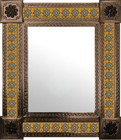 mexican mirror created frame