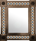 mexican mirror handcrafted frame